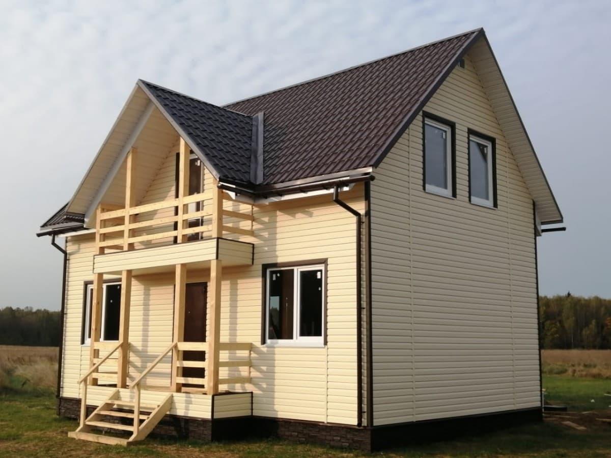 Каркасный дом с участком